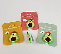 Попсокет Popsockets 3D держатель, подставка для телефона Авокадо, фото 1