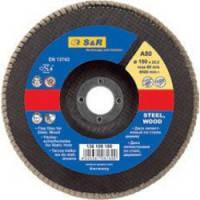 Круг зачистной лепестковый S&R Standard 125 Z40