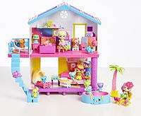 Райдужний Пляжний Будиночок Шопкинс Shopkins Happy Places Rainbow Beach House
