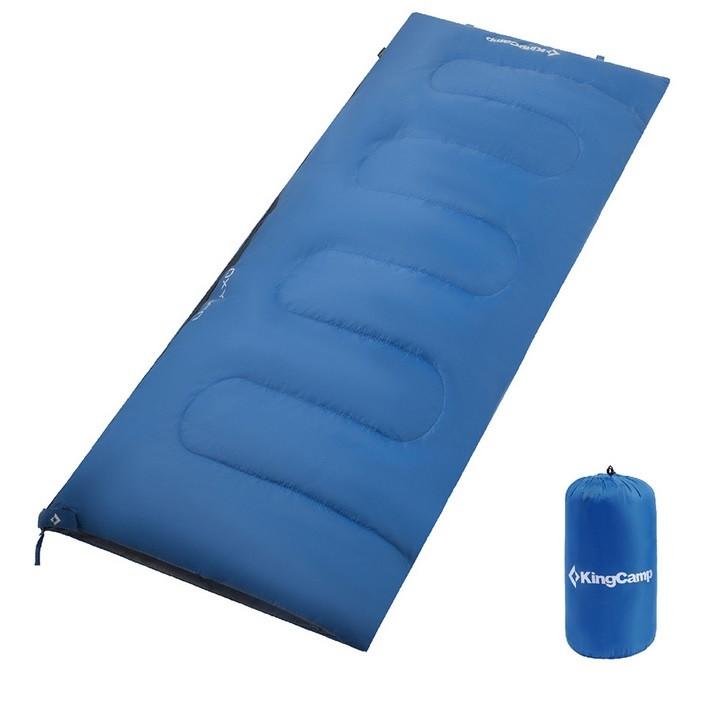 Спальник King Camp Oxygen KS3122 (Dark blue, левая молния)