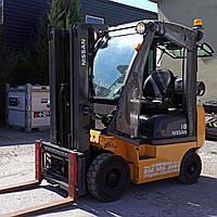 Газовый вилочный погрузчик 1,8 тонн Nissan P1D1A18LT  б/у, фото 1