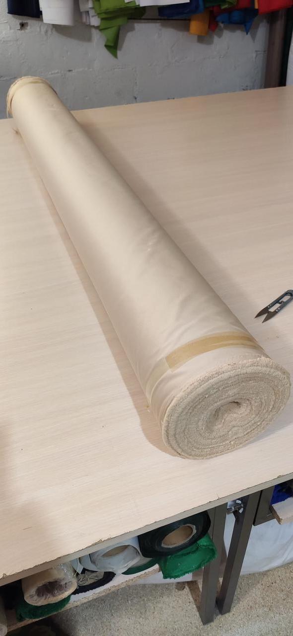 Ткань Барселона 450D палаточная, полиэстр - Топленое молоко-слоновая кость