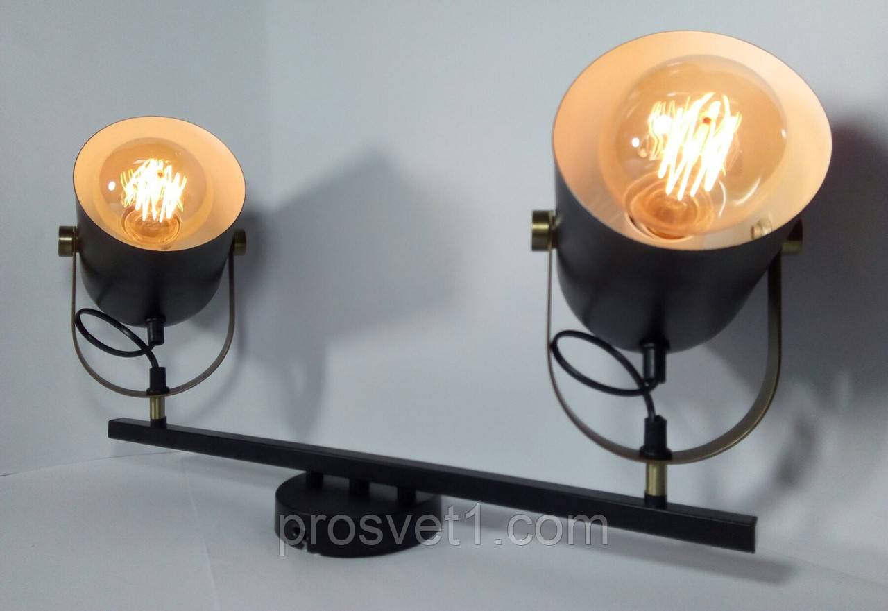 Светильник бра в стиле Loft (80994/2C AK Крам)