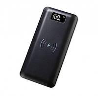 ✅ Power Bank Wireless 908 беспроводной (с дисплеем) | беспроводная зарядка, повер банк (Гарантия 12 мес)