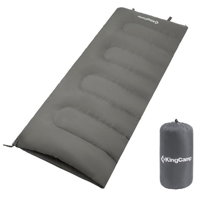 Спальник King Camp Oxygen KS3122 (Grey, левая молния)
