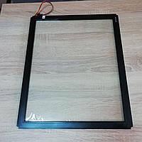 Сенсорное стекло ИК19 6мм, тачскрин, инфрокрасное сенсорное стекло, IR, сенсорный монитор, сенсорная панель IK