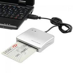 Сканер USB для чипованных смарт карт IC/ID Smart Card Reader