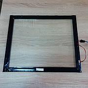 Сенсорное стекло ИК17 8мм (внутреннее), тачскрин, инфрокрасное IR, сенсорный монитор, сенсорная панель IK