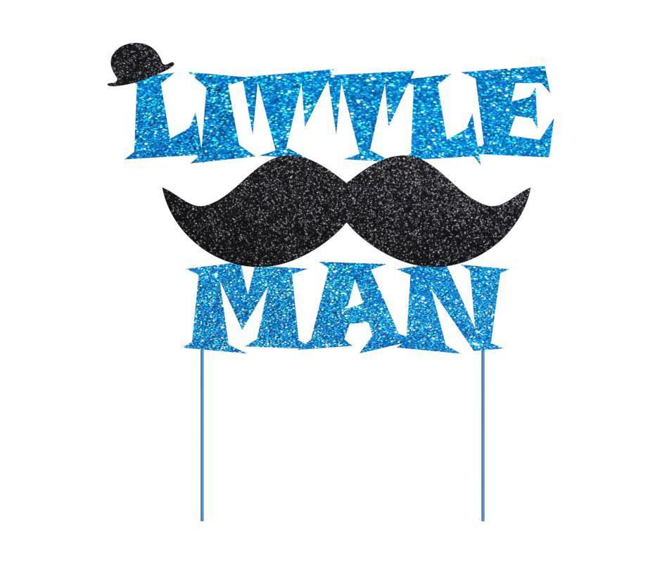 Топпер Little Man | Топер Літтл Мен | Топеры маленький чоловік | Індивідуальний колір