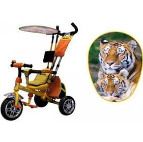 Трехколесный велосипед ВС-15АN SAFARI желтый
