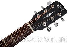 Акустическая гитара Cort AF510 BKS, фото 2