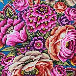 Цвет граната 1875-10, павлопосадский платок (шаль) из уплотненной шерсти с шелковой вязаной бахромой, фото 9