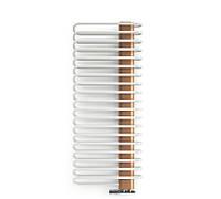 Радиатор водяной Terma Michelle 1200x600, цвет: white cream, внутренняя панель цвет: copper, подкл. YL