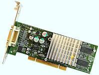 Профессиональный видео-ускоритель PNY VCQ4280NVS-PCI 64 МБ Video SDRAM PCI Б/У Лот #7, фото 1