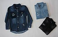 Джинсовая рубашка для мальчика подростка Tonny Hilfiger 5-14 лет