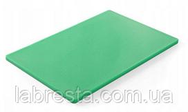 Доска разделочная Hendi 825549 HACCP 450x300x12,7 мм - зеленая