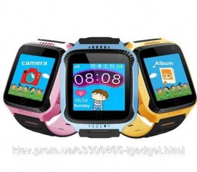 Детские смарт часы М05 оригигал GPS ( синий и розовый )