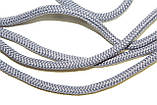 Шнур круглый 5 мм 200м светло серый, фото 2