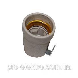 ElectroHouse Патрон керамический с планкой E27