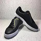 Кроссовки спортивные женские Puma Basket Crush Emboss Heart Women's Sneakers 36959502 38 размер, фото 3