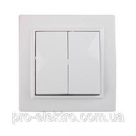 ElectroHouse Выключатель двойной Enzo EH-2102