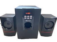 Мультимедийная акустическая система 2.1 Ailiang USBFM-T11BDC-DT Black