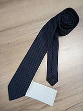 Краватка темно - синій з принтом СОЅ (Італія)