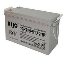 Аккумуляторная батарея Kijo JDG 12V 200Ah GEL (200Ачас/12В)