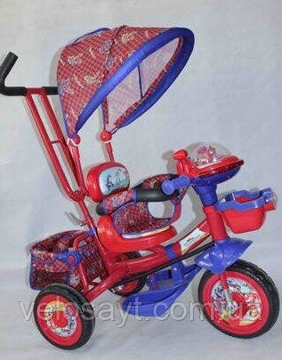 """Триколісний велосипед BC-17B - трійка """"Ламба фара""""""""помаранчевий"""