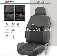 Чехлы на сиденья EMC-Elegant Mitsubishi Outlander Sport до 2003-07 г
