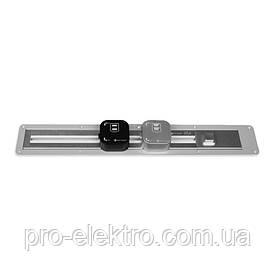 ElectroHouse Рамка врезная для трековой рейки 1 м серебро