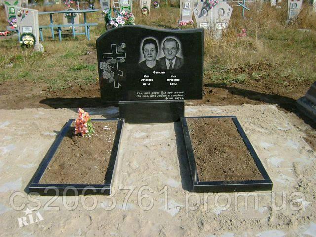 """Памятник с портретом - """"Судьба"""" - STONE AGE в Житомирской области"""