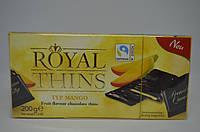 Шоколадные пластины Royal Thins Fruity Maнго 200 г