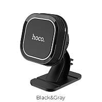 Автодержатель для телефона в авто  Hoco магнитный на панель CA53 Black