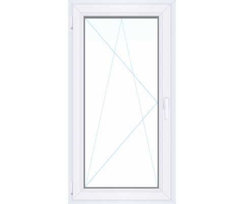Одностворчатое окно Millenium