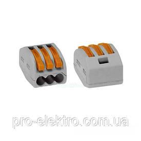 ElectroHouse Коннектор на три контакта (400В, 32А) самозажимный