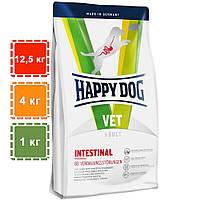 Сухой корм Happy Dog Vet Diet Intestinal для собак, страдающих от лишнего веса | 12,5 кг | 4 кг | 1 кг