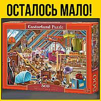 Чердак castorland пазл 500 элементов | пазлы касторленд дом ретро сложные для взрослых и детей