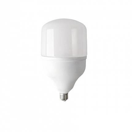 Мощная LED лампа 40Вт 6400К (VIS-40-E27), фото 2