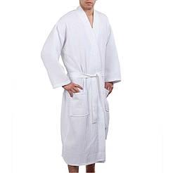Вафельный  халат для гостиницы XL (50-52) Турция HOTEL