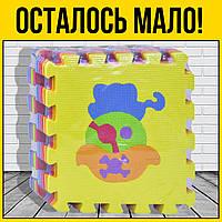 Коврик пазл Пират 9 элементов | напольные детские мягкие пазлы для самых маленьких детей