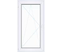 Одностворчатое окно WINTECH