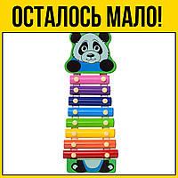 Деревянная игрушка Ксилофон | Панда музыкальный детский деревянный инструмент для детей цена
