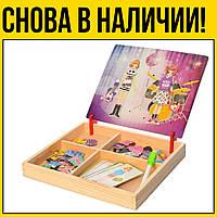 Деревянная игрушка Гардероб | Клуб развивающие игрушки для детей девочек мальчиков лет года