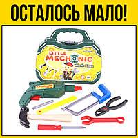 Набор инструментов в чемодане 7 шт | Детские развивающие игрушки для детей девочек мальчиков лет года