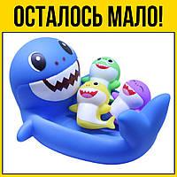 Игрушки для ванной Акулы | Детские игрушки для детей девочек мальчиков лет года