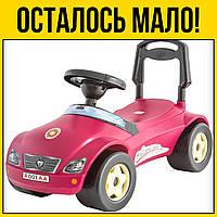 Машинка каталка Мерсик красная   Детские игрушки игры лет года детское для детей мальчиков девочек