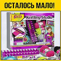 Набор для вязания в коробке | вязание детям спицами для детей начинающих девочек