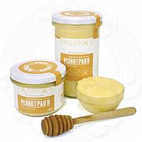 Мед разнотравье натуральный 250 мл. сертифицированные без ГМО