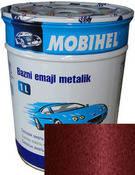 """132 Автоэмаль базовая """"металлик"""" Helios Mobihel """"Вишня"""", 1л"""
